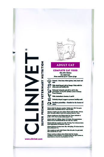 Clinivet Adult Cat