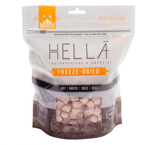 HELLÄ FREEZE-DRIED NAUTA Mush